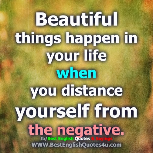 Beautiful Things Happen In Your Life...