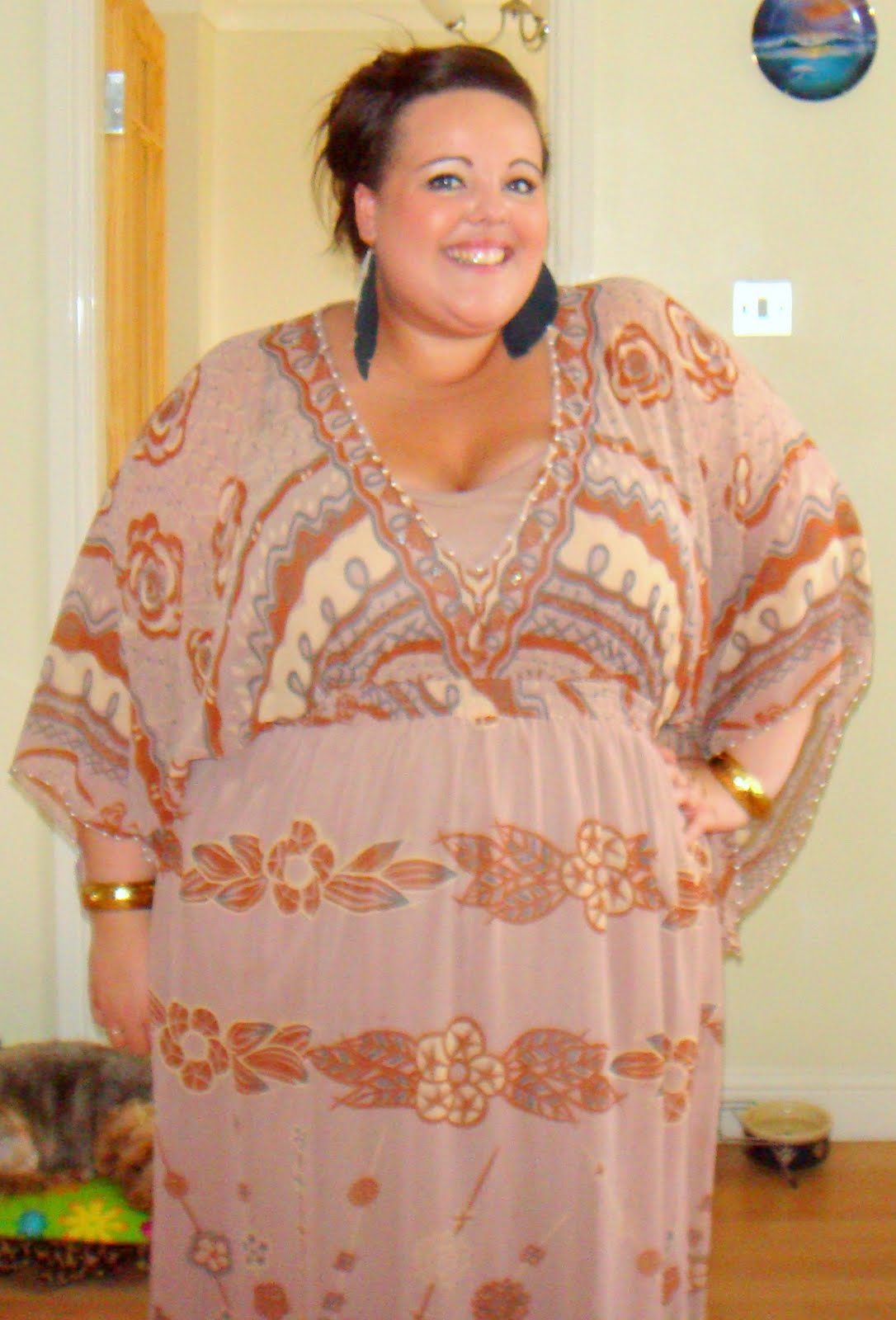 OOTD Zandra Rhodes for Simply Be – Diamonds & Pearls