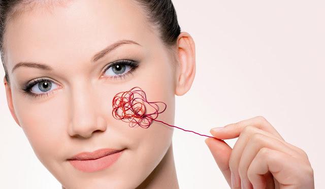 Из-за чего возникает красная сосудистая сетка на лице и как ее убрать?