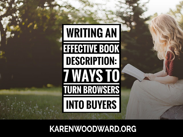 Writing an Effective Book Description: 7 Ways to Turn Browsers Into Buyers