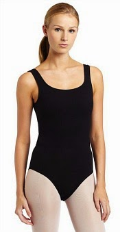 Black Flashdance Leotard