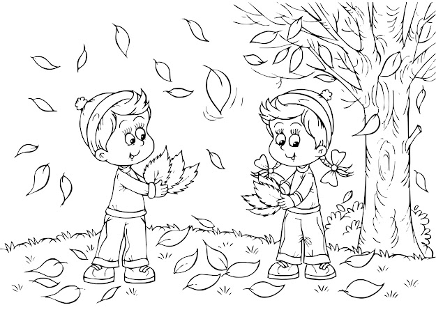 Fall Coloring Pages For Preschoolers  Christian Coloring Pages For  Kids Best Coloring Pages For Kids