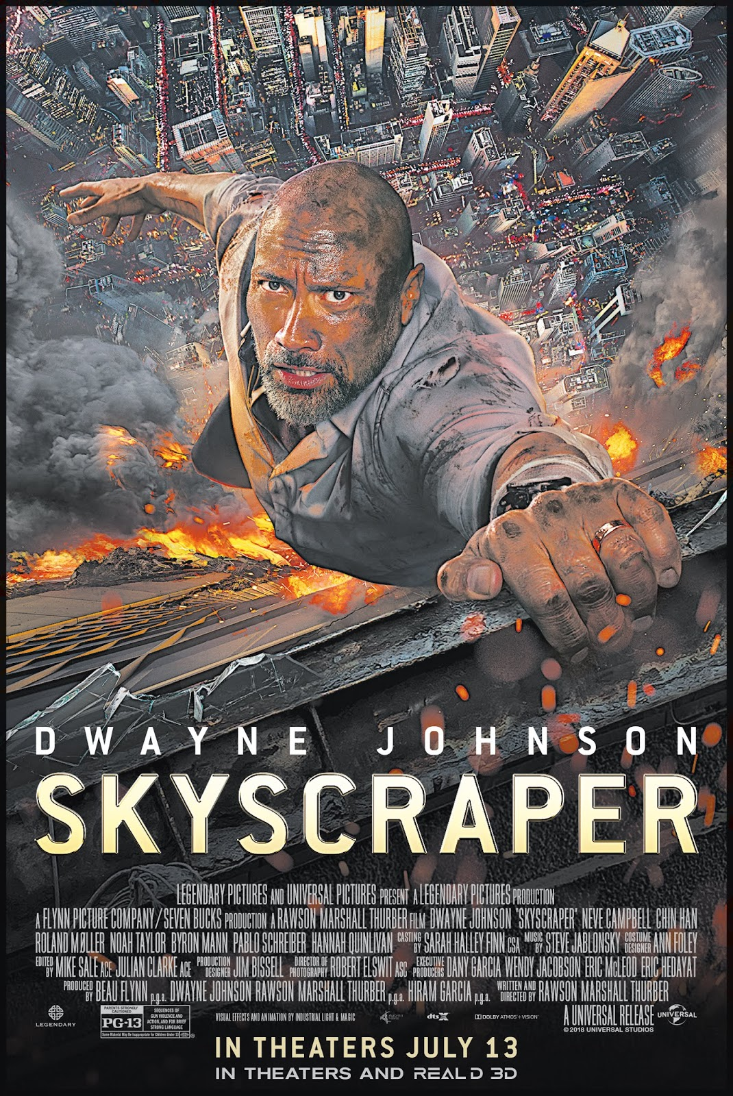 enter for a chance to win tickets to see skyscraper in dallas