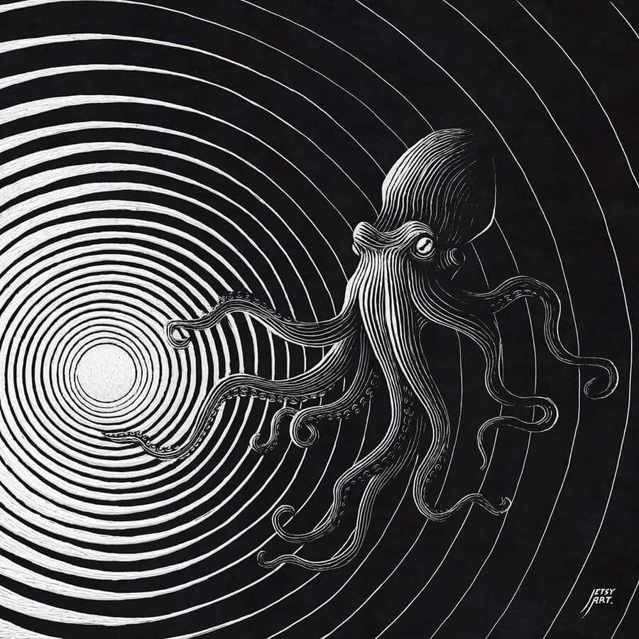 07-Hypnotic-octopus-Justin-Estcourt-www-designstack-co