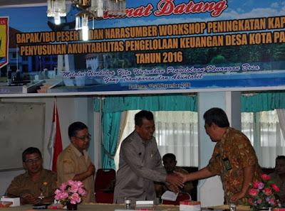 Pariaman, Daerah Pertama di Sumatera Terapkan Siskeudes