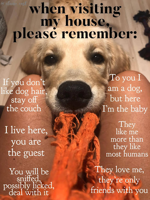 When Visiting My House, Please Remember....