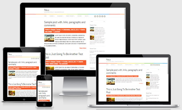 Download Template Blogger Yang Terbukti Mendapat Full Approved Google Adsense