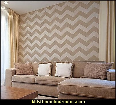 Chevron  Stencil   zig zag bedroom decorating ideas - Zig Zag wall decals - Chevron bedroom decorating ideas - zig zag wallpaper mural - zig zag decor - Chevron ZIG ZAG print - Herringbone Stencil - chevron bedding - zig zag rugs -