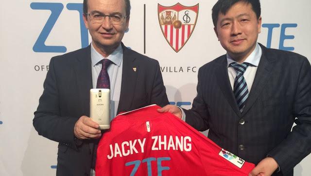 ZTE nuevo partner tecnológico oficial del Sevilla