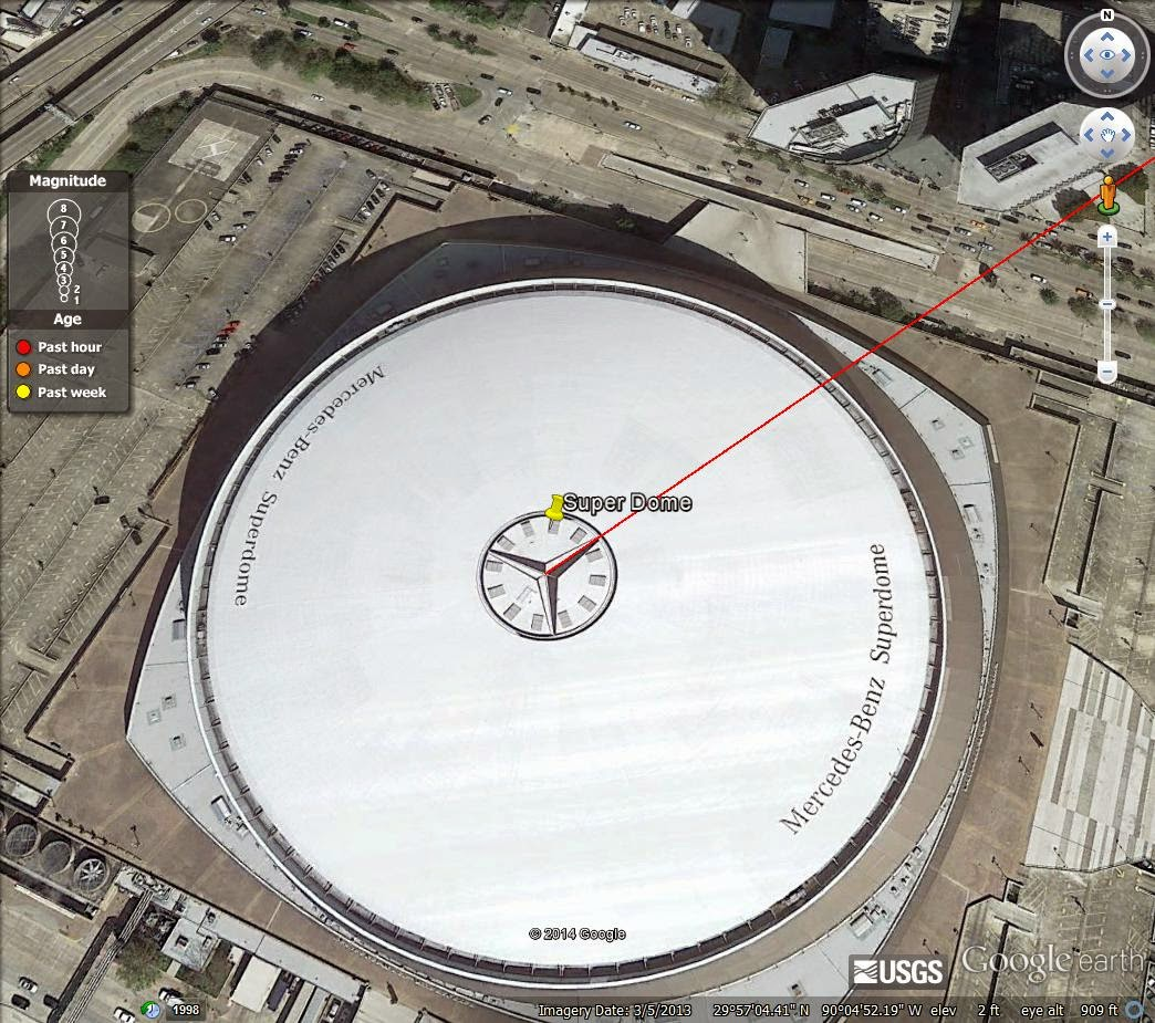The end times forecaster february 2017 for Mercedes benz superdome layout