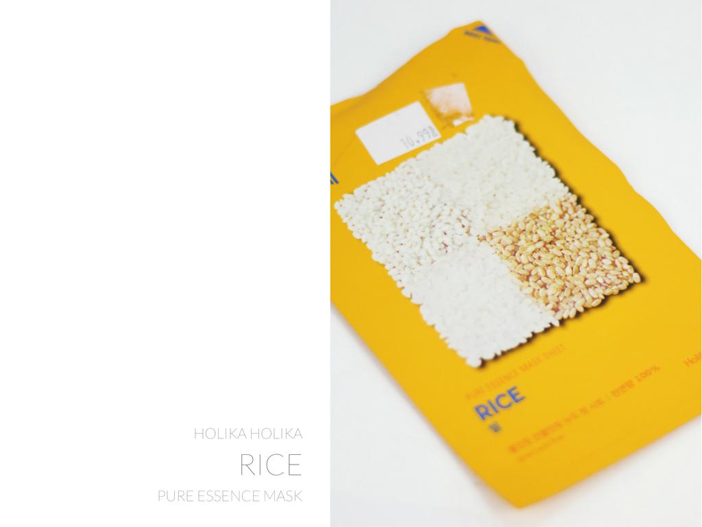 holika holika maski w płacie ryż