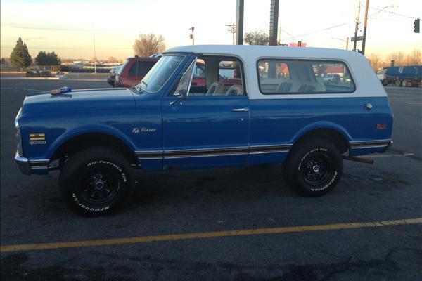 Chevrolet Blazer 4x4 1972 1972 Chevrolet K 5 Blazer Cst 4x4
