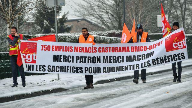 Pasidupes castorama l 39 anglais kingfisher veut imposer for Brico depot siege