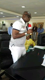 Am Wearing Short Knickers To Sign The Budget, Let Them Keep Talking –by Gov Fayose