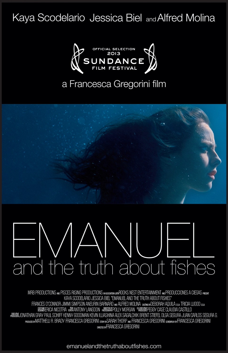 Emanuel And The Truth About Fishes, De Francesca