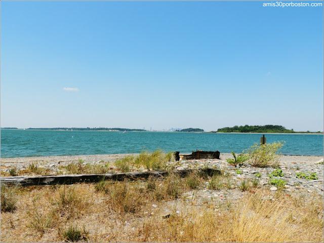 Vistas desde Georges Island