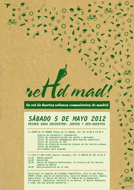 Primer encuentro de Huertos Urbanos en Madrid