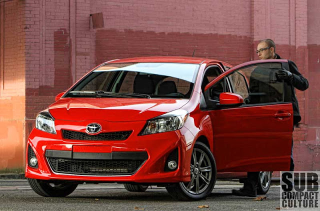 2012 Toyota Yaris SE - Subcompact Culture