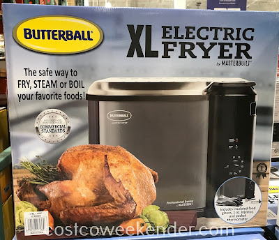 Go with a fried turkey this Thanskgiving with the Butterball XL Electric Turkey Fryer