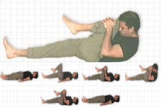 Yoga Posture Guide - The Wind-releasing Pose (Pavana-mukta-asana)