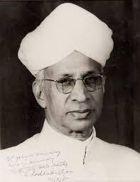 Radhakrishnan present of india