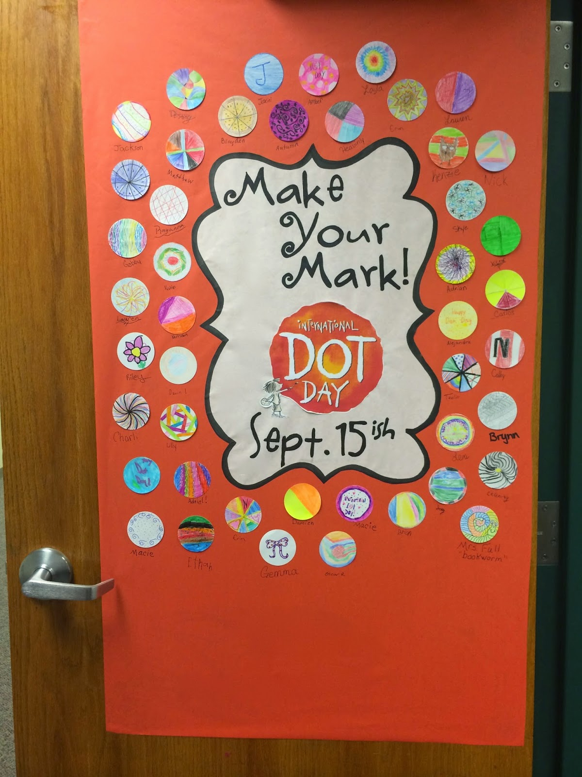 A Full Classroom International Dot Day
