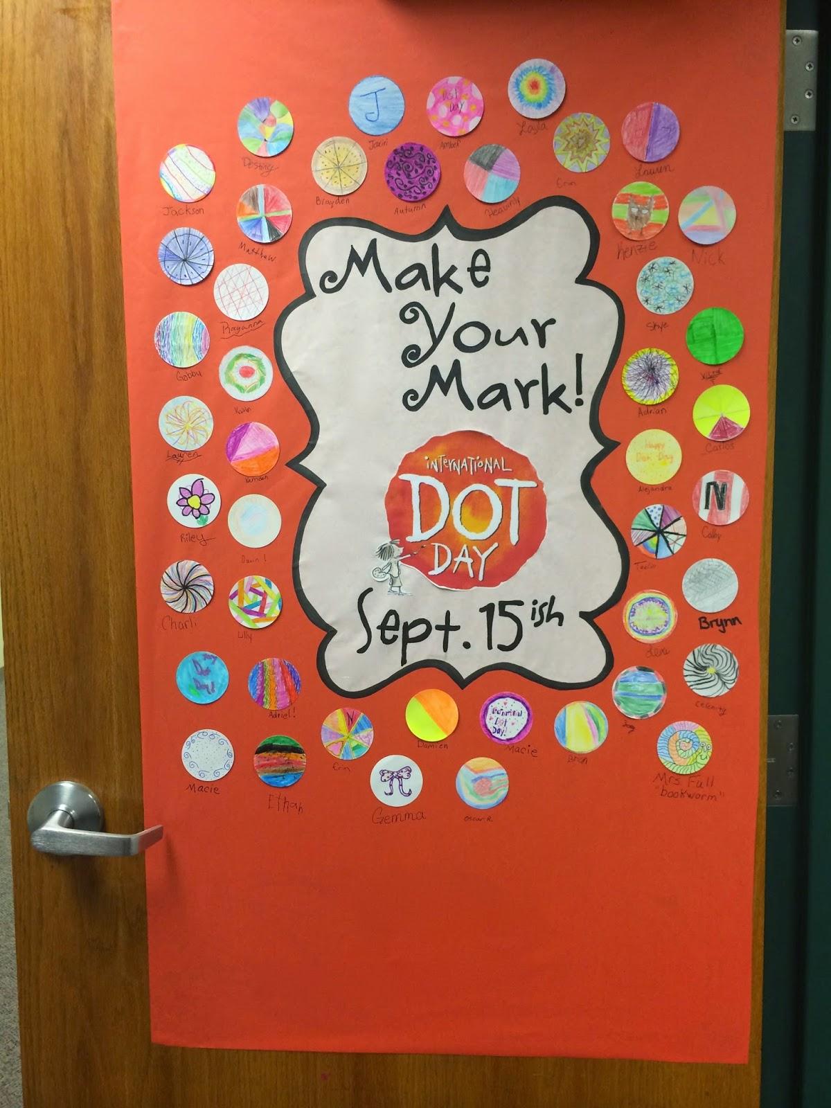 A Full Classroom International Dot Day