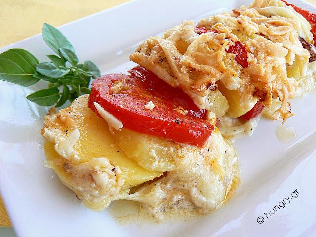 Πατάτες Ογκρατέν