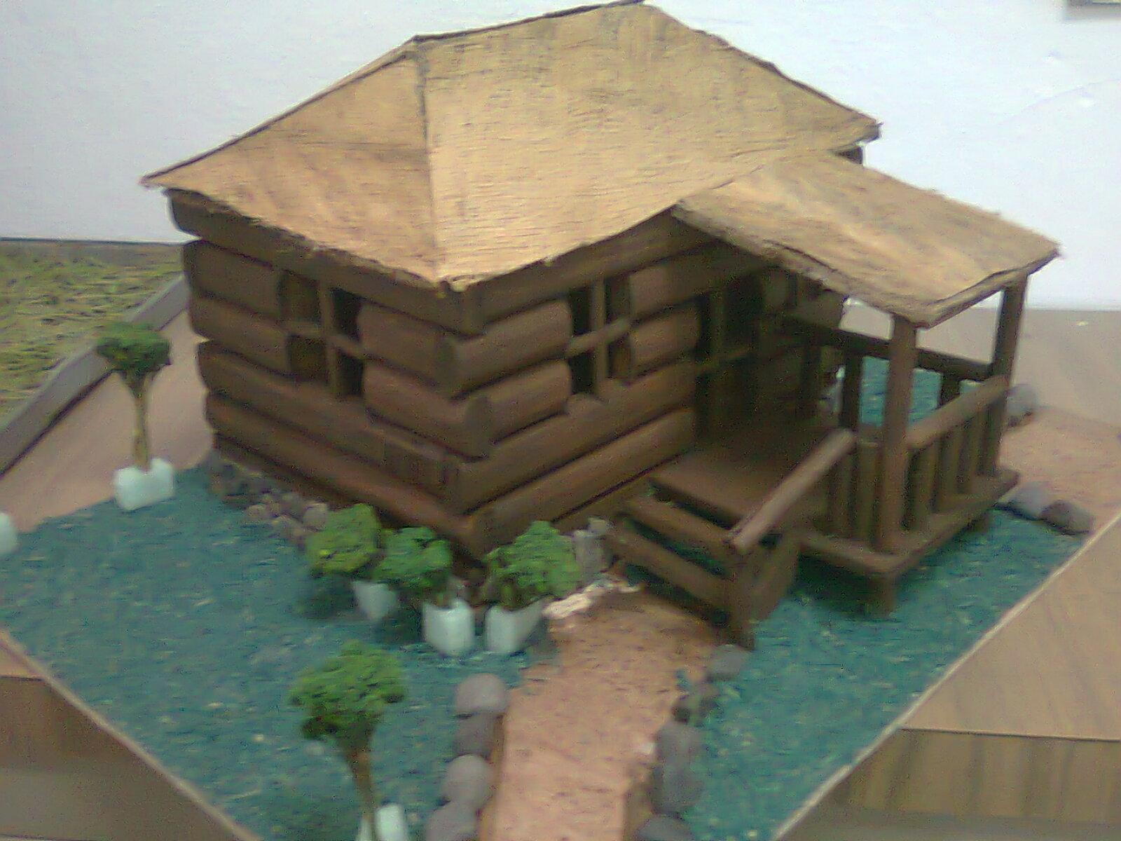 Arodi a uicab marin trabajos realizados en maquetas for Tipos de casas para construir