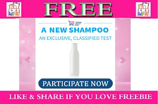 Register To Get Free Shampoo Sample