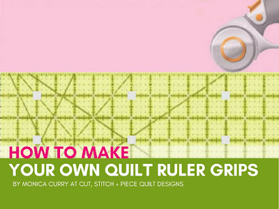 Make Your Own Quilt Ruler Grips