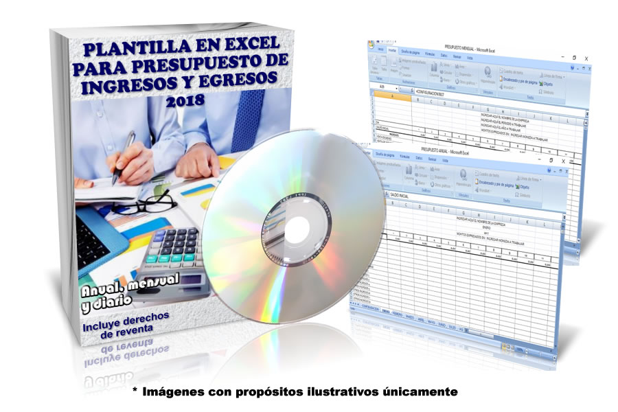 Plantilla para presupuesto mensual y anual en excel ~ Software ...