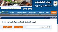 ظهرت الآن نتيجة الشهادة الاعدادية محافظة بني سويف 2021 الترم الأول من موقع البوابة الألكترونية للمحافظة برابط مباشر من هنا