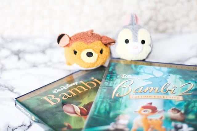 Bambi DVD et Tsum tsum