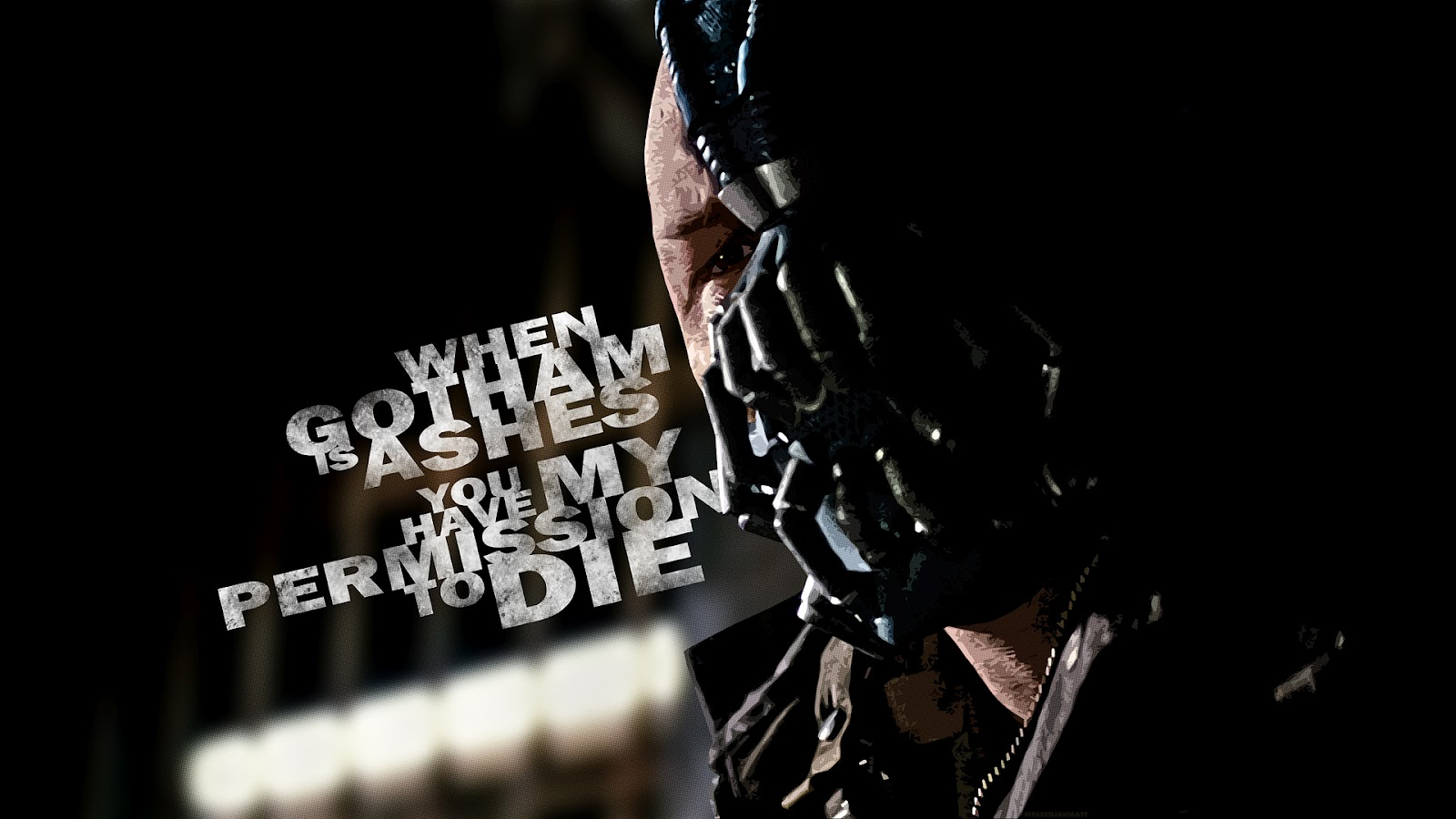The latest wallpaper trends: Dark Knight Rises Bane Batman ...
