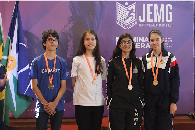 Jemg já tem vários medalhistas nas modalidades individuais e paralímpicas Crédito (foto): Tiago Ciccarini