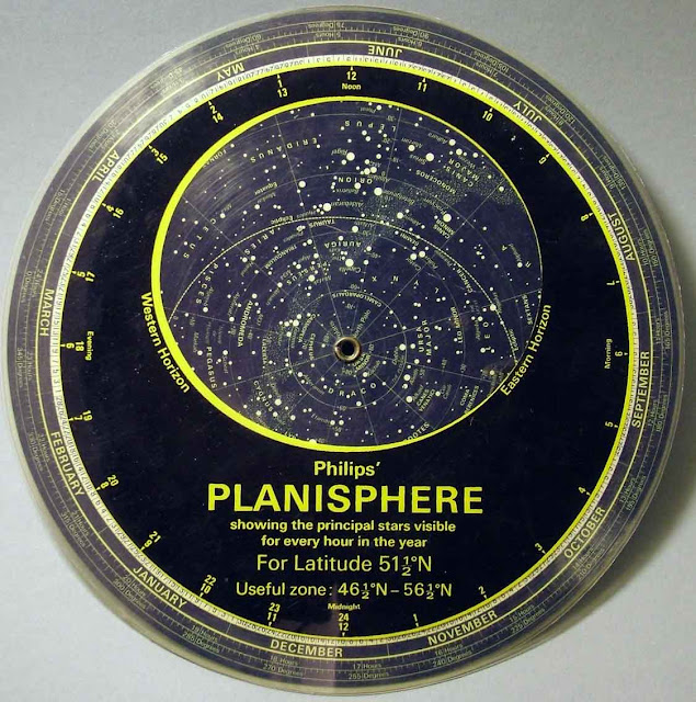 Planisphere by Rancah Astronomy Club