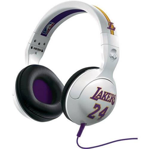Com o cuidado na estética, o fone de ouvido  Hesh NBA Lakers da Skullcandy traz também qualidade de som. Sua sensibilidade é de 94 dB
