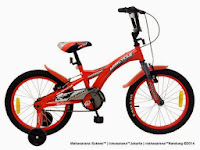 Sepeda Anak WIMCYCLE BMX AGRESSOR 18 Inci