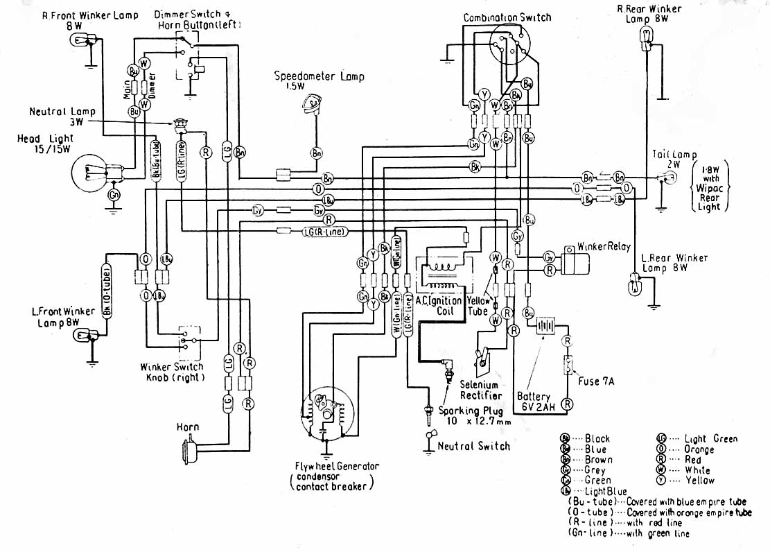 Yamaha Golf Cart Wiring Diagram Brakelight