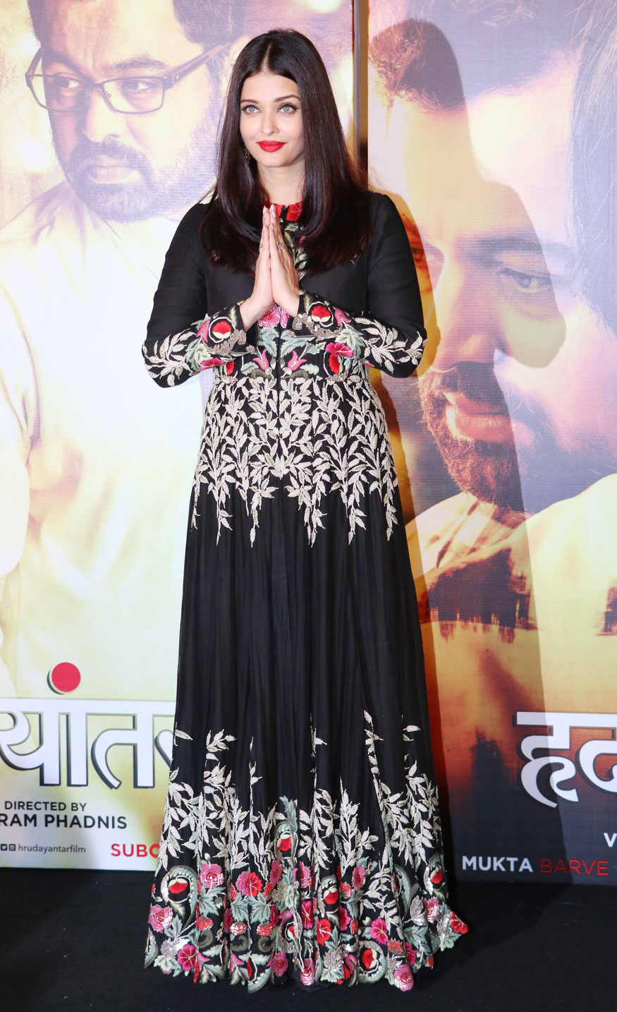 Aishwarya Rai Attends The Music Launch of Hrudayantar at PVR Premiere