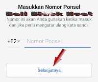 Daftar Facebook di Android | Membuat Facebook Dengan Nomor HP