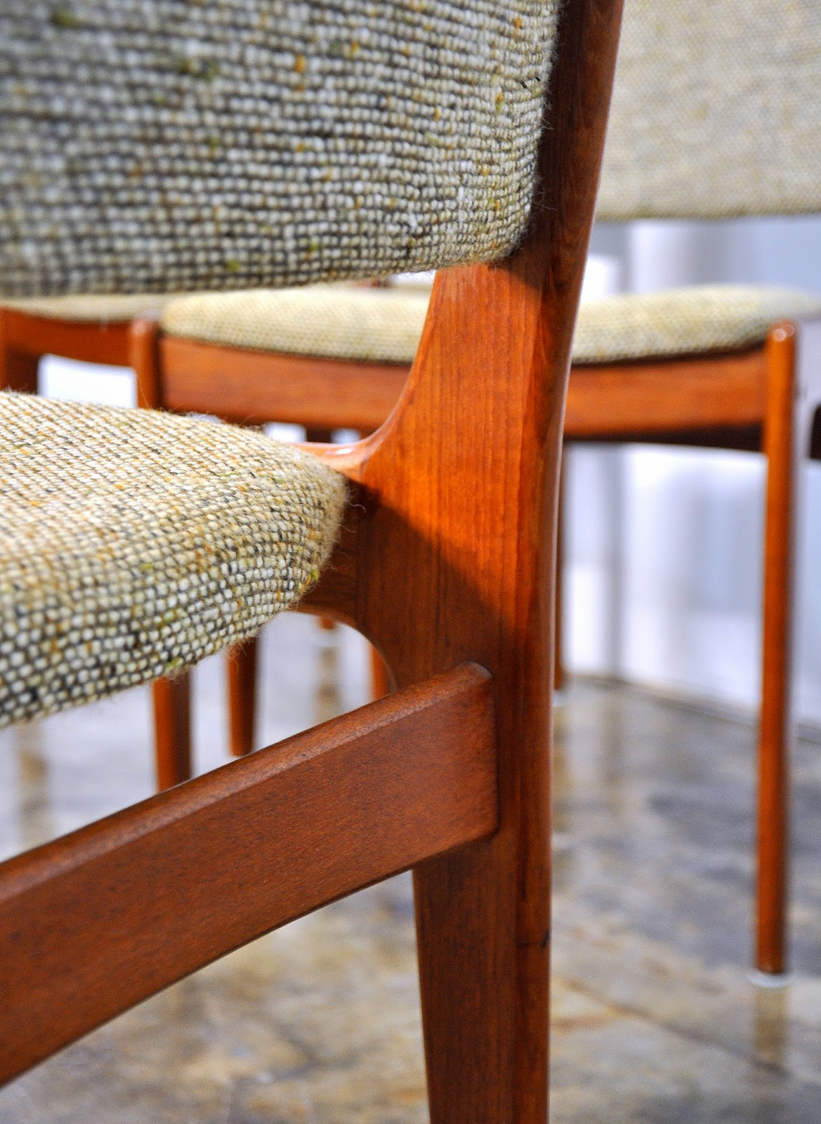 set of 4 chairs patio for sale select modern: danish modern teak dining