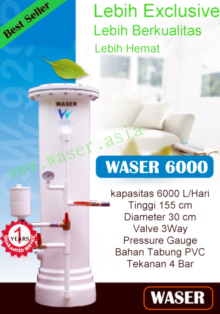 Filter Air Terbaik Wasser 6000
