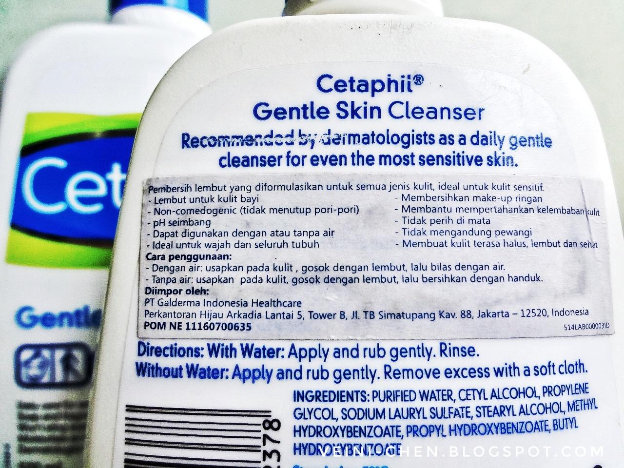 Cetaphil Gentle Skin Cleanser Be Your Own Kind Of Beautiful 250ml Sabun Cuci Muka Face Wash Meskipun Rada Aneh Karena Ini Ga Menghasilkan Busa Seperti Facial Pada Umumnya Namun Tetap