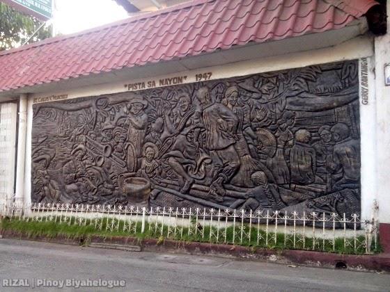 Pista sa Nayon (mural by Gerry Bantang)