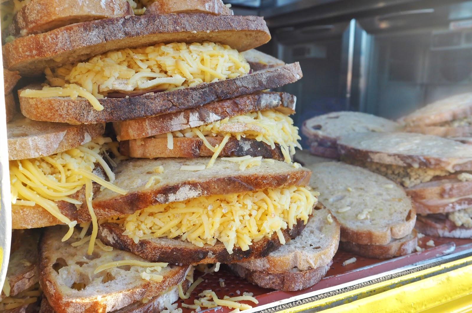 Cheese truck cheesy toasties