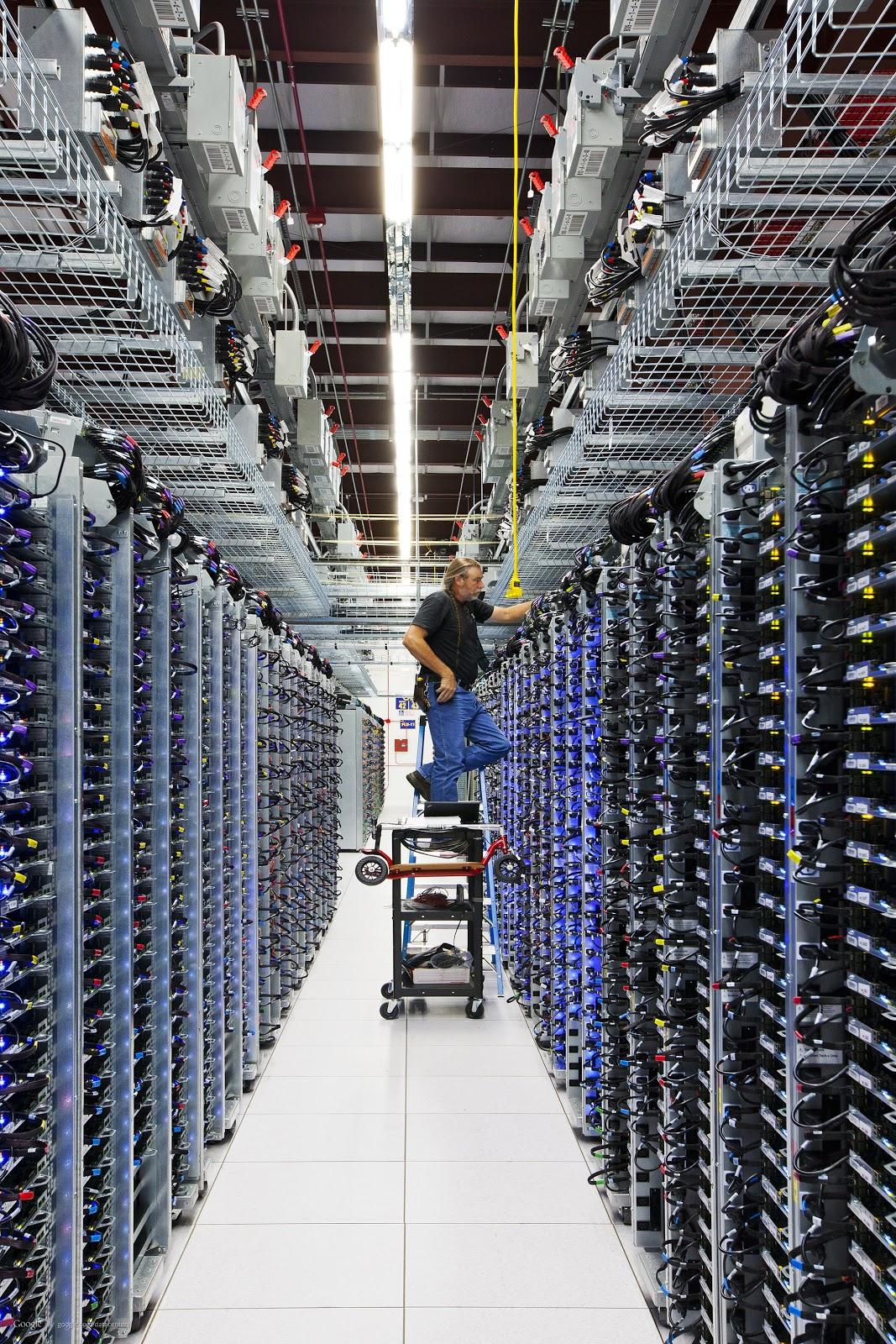 Industrial Architecture Google Data Centers Buildings