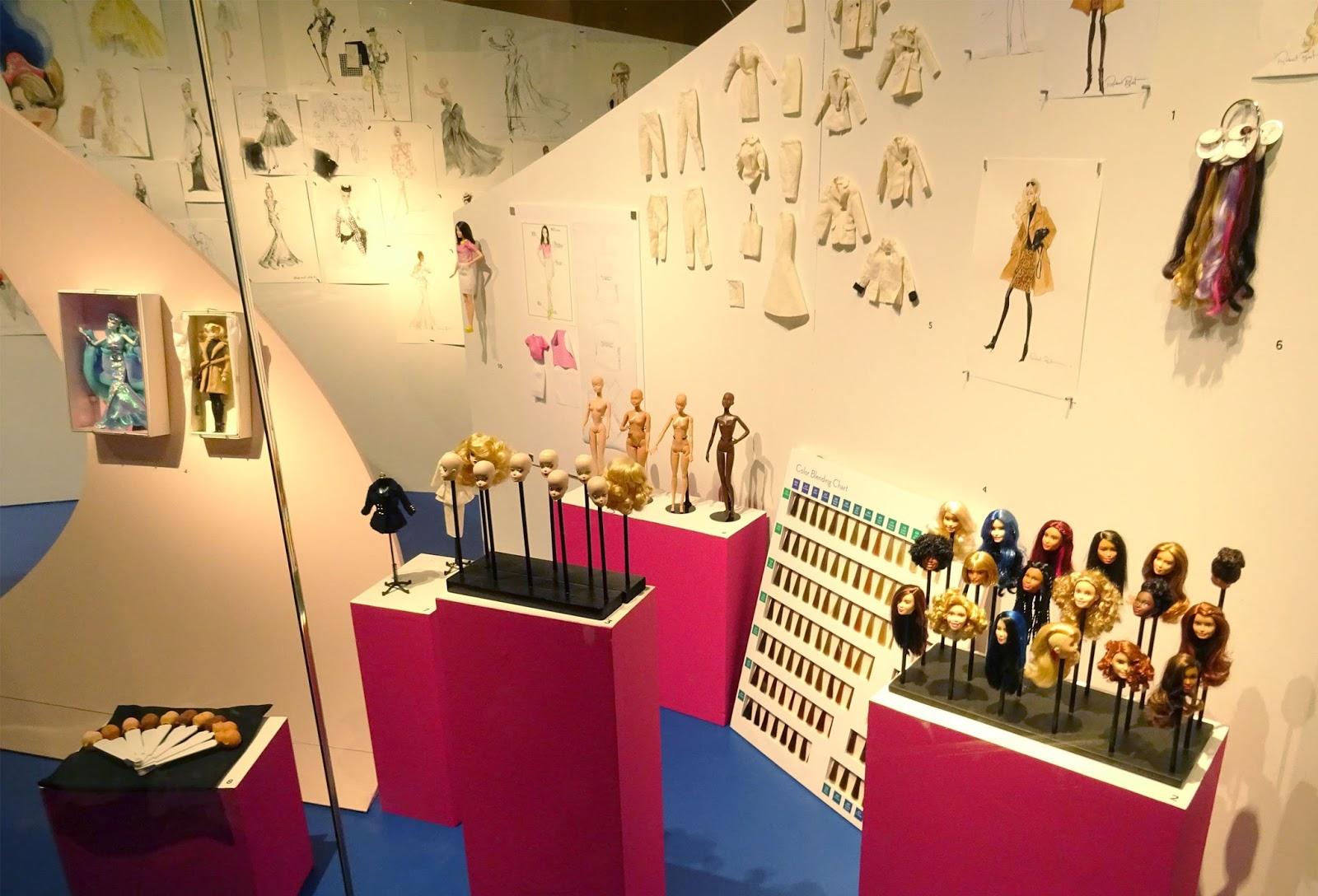 Exposition Barbie Musée des Arts Décoratifs création Barbie