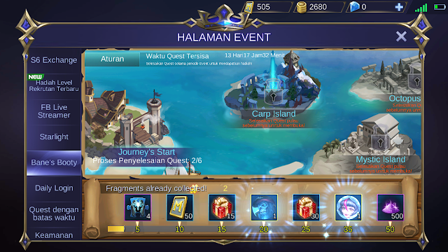3. The Bane's Booty Event